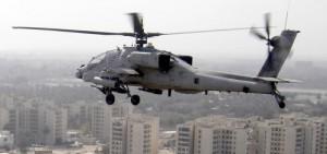AH-64H már longblow radar nélkül Bagdad felett