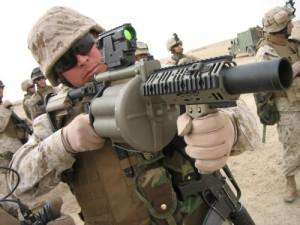 M32 gránátvető a szakasz tűzerő növelésére
