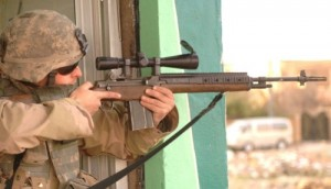 M14 pontosabb/átütőbb a nagyobblőszerével