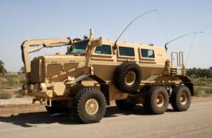 Buffalo az 'IED' semlegesítő jármű